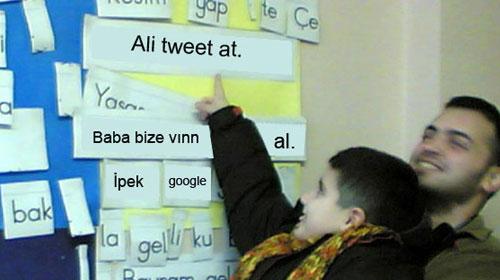 """Ali tweet at"""