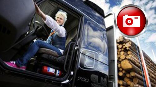 Kadın Şoförlerin Kamyon Arkası Yazıları
