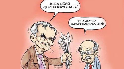 CHP'deki Kriz Mizah Dergilerinde!