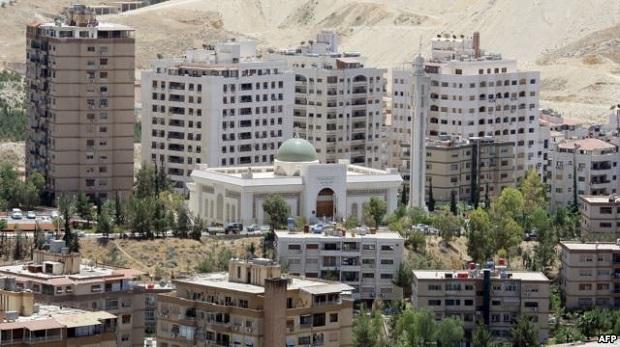 İran Şam'da çok sayıda emlak satın alıyor