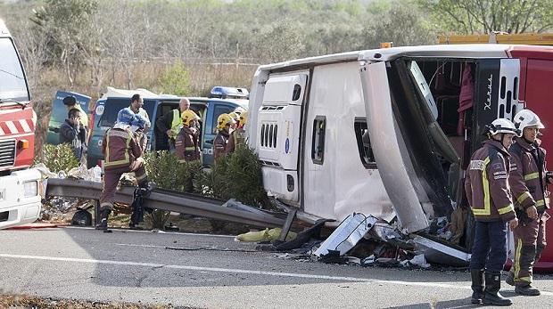 İspanya'daki kazada ölenler arasında Türk öğrenci yok