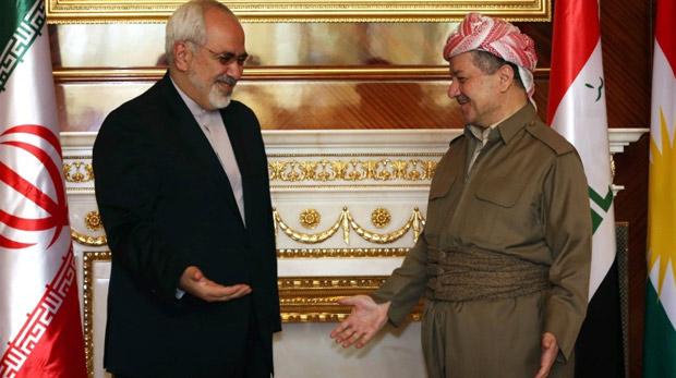 Barzani: İran bize silah veriyor