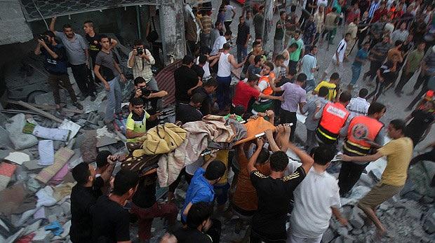 Gazze'de ölü sayısı 230'a yükseldi