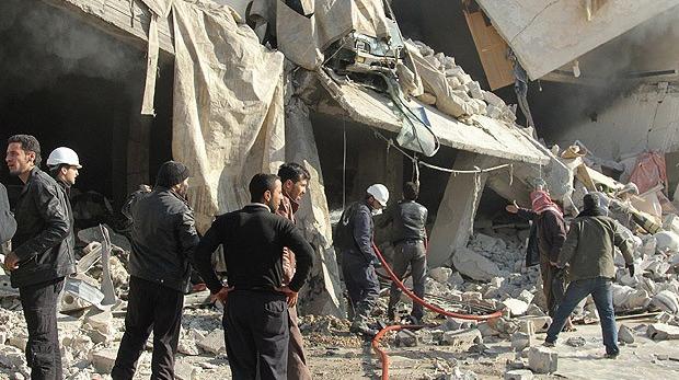 Esed güçlerinin saldırılarında 95 kişi öldü