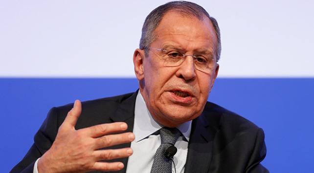 Lavrov Akdeniz Forumu'nda açıklamalarda bulundu