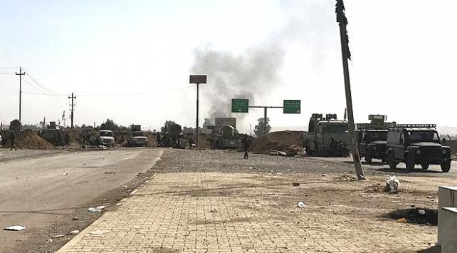 Irak güçleri ile Peşmerge arasında çatışma