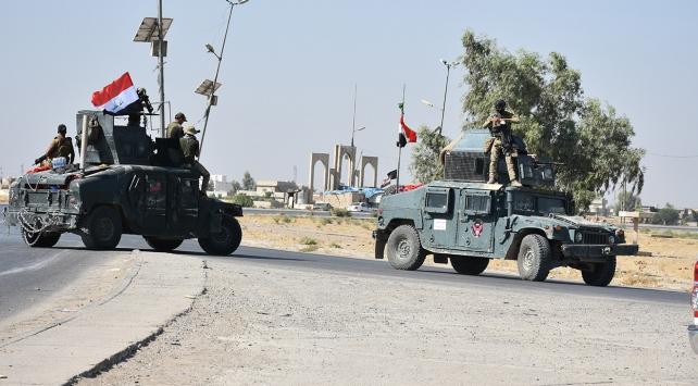 Irak güçlerinin Kerkük'te ilerlemeye devam ediyor
