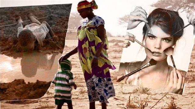 Kozmetiğe harcananın % 1'i Afrika'yı kurtarabilir
