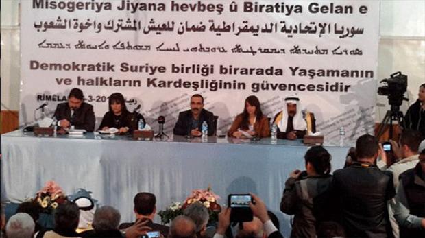 Suriyeli Kürtler federasyon ilan etti