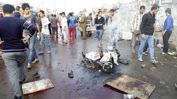 Bağdat'ta bombalı saldırılar:70 ölü