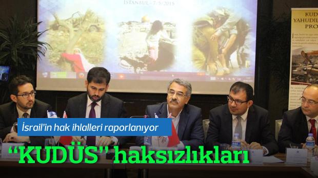 UAHDER'den haksızlıklar için Küdüs Raporu