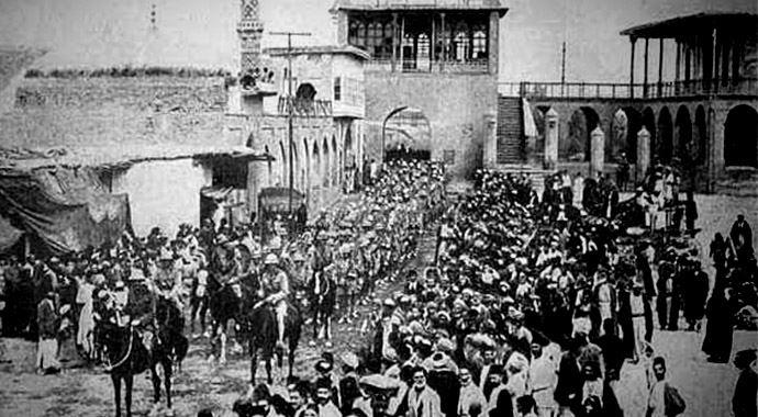 Batı'nın Irak'ı işgali,Bağdat'ın işgaliyle başladı