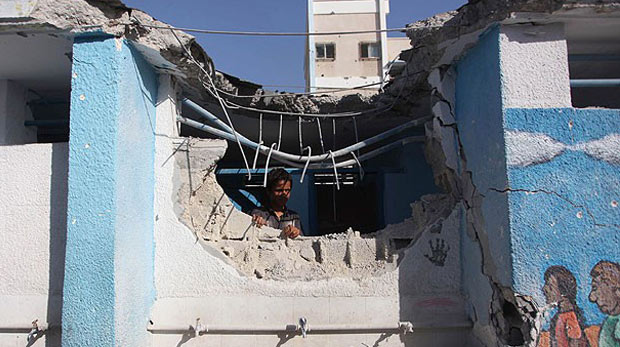 İsrail yine okul vurdu: 10 ölü