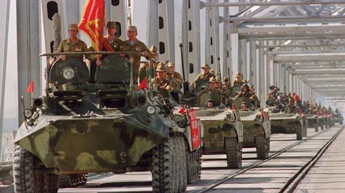 Rus Askerleri Türkiye Sınırında