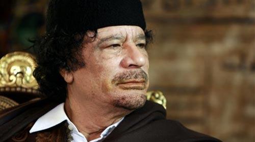 Kaddafi'ye Tutuklama Talebi