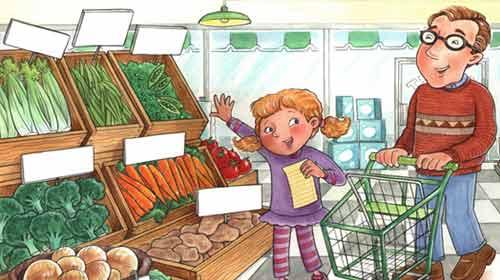 Çocuğunuzla Alışverişe Çıkarken…