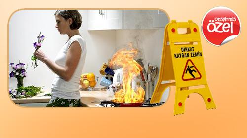 Ev Kazaları Can Alıyor