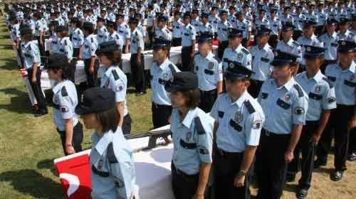Polis Adaylarına Drama Dersi