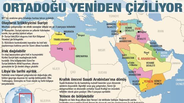 Ortadoğu'da 5 ülkeden 14 ülke çıkacak