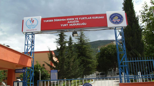 Amasya'daki KYK yurtları