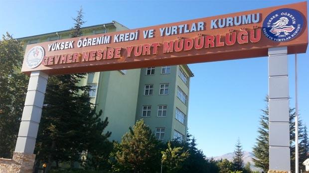 Kayseri'deki KYK yurtları