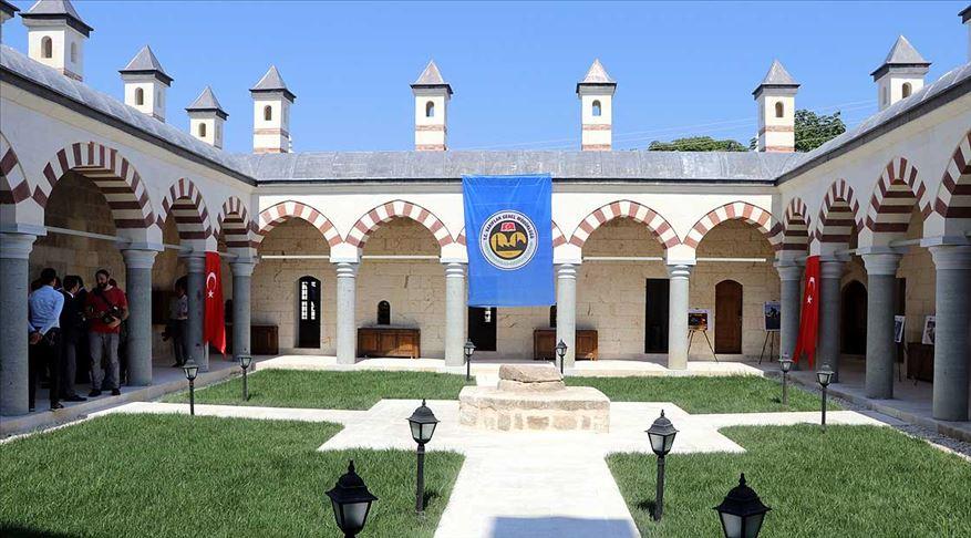 Fatih'in eğitim gördüğü Saatli Medrese açıldı