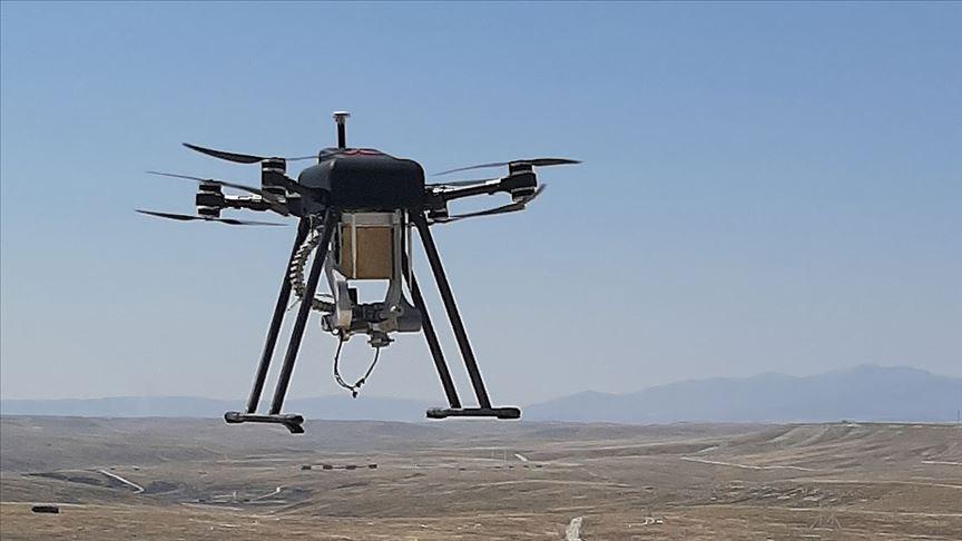 Yerli silahlı drone Songar 'bomba atar' kuşandı