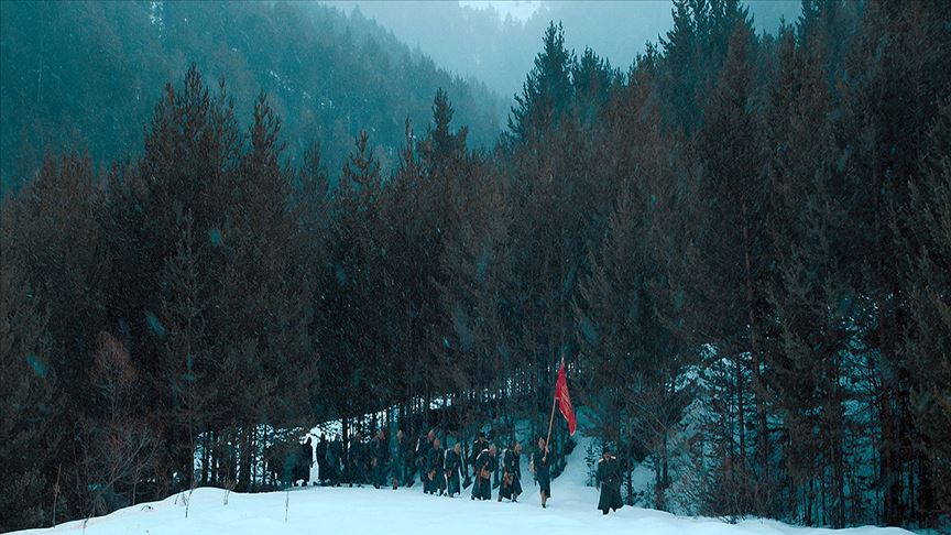 Merakla beklenen Beyaz Hüzün/Sarıkamış filminin galası yapıldı