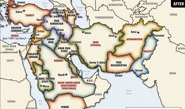 Sena Gece: Vadedilmiş Topraklar Projesi (Büyük Ortadoğu Projesi)