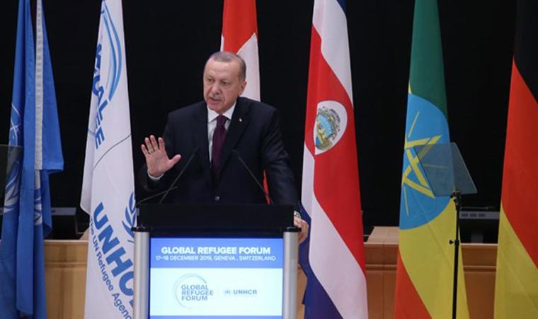 Cumhurbaşkanı Erdoğan: Attığımız adımlar Sevr'in ters köşe edilmesidir