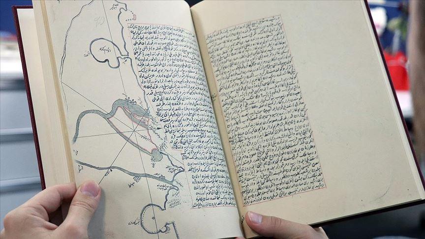 Katib Çelebi'nin 'Müntehab-ı Bahriyye' kitabı Osmanlı coğrafyasını gözler önüne seriyor
