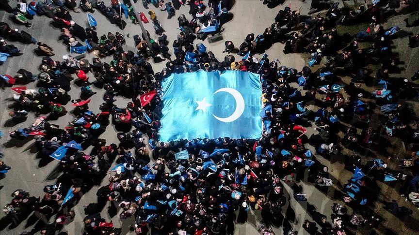 Bayrampaşa'da Doğu Türkistan için 'Sessiz Çığlık' eylemi