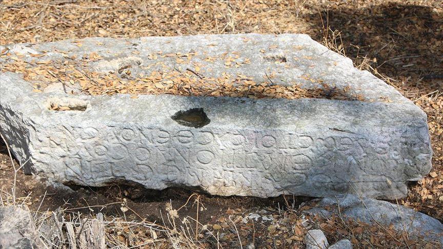 Muğla'da antik kent yakınlarındaki kazılarda yazıtlar bulundu