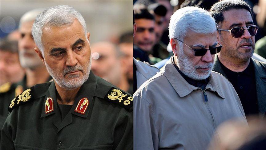 İranlı general Süleymani ve Haşdi Şabi Başkan Yardımcısı el-Mühendis öldürüldü