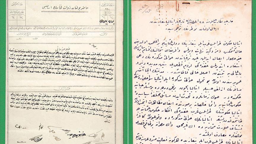 Türkiye-Libya ilişkilerinde tarihi belgeler
