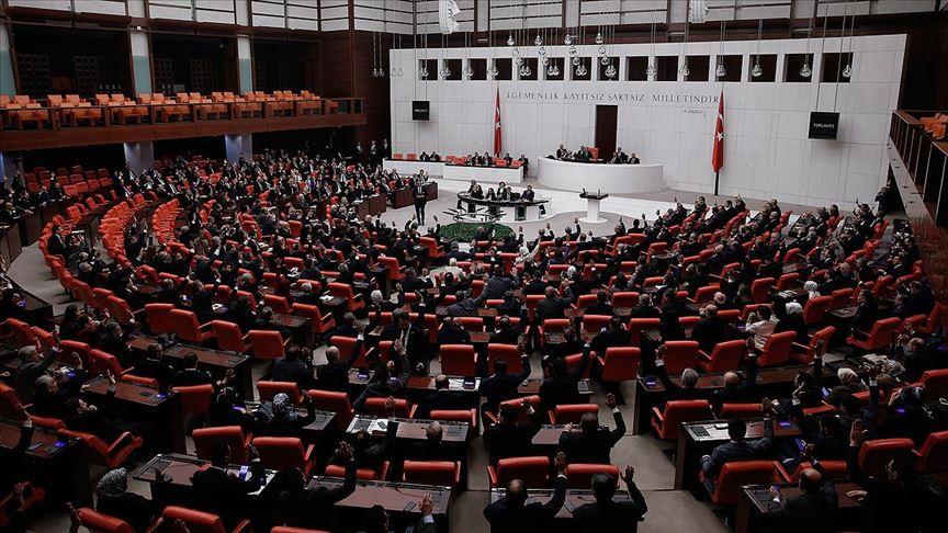 Libya tezkeresi TBMM Genel Kurulu'nda kabul edildi