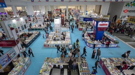 14. Ankara Kitap Fuarı açılıyor