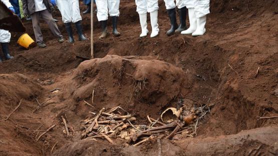 Burundi'de 6 toplu mezarda 6 binden fazla ceset bulundu