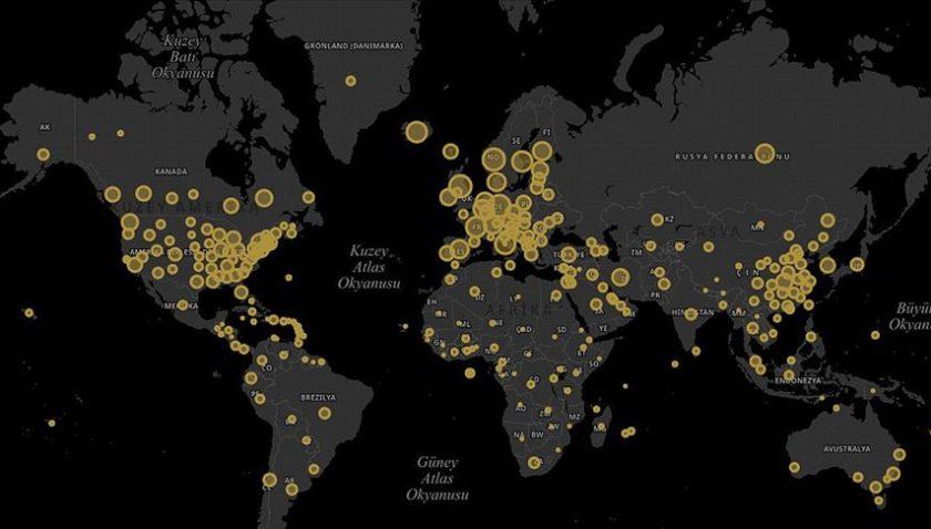 Cumhurbaşkanlığı Dijital Dönüşüm Ofisinden 'koronavirüs' sitesi