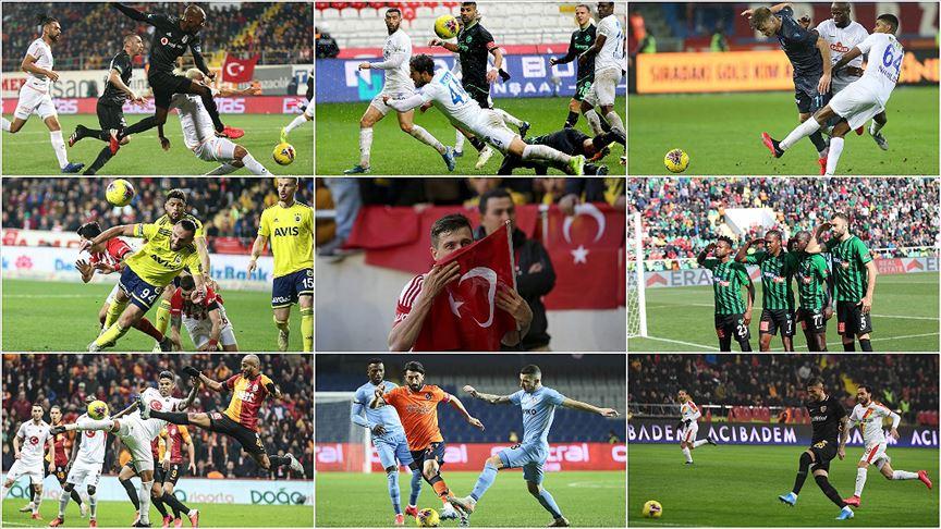 24. haftanın ardından Süper Lig'de görünüm