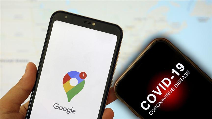 Google, Kovid-19 ile mücadeleye destek için konum verilerini açıklayacak