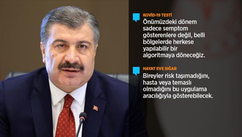 Sağlık Bakanı Koca: Salgına karşı aldığımız tedbirler toplum tarafından kabul gördü