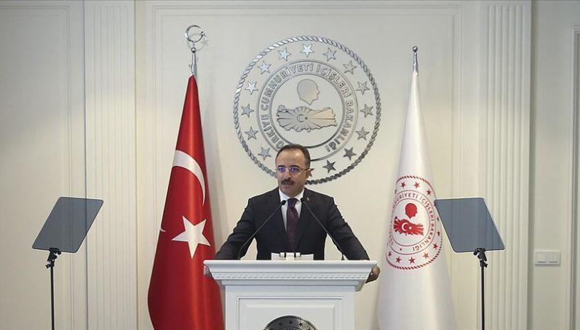 İçişleri Bakanlığı Sözcüsü Çataklı: PKK'ya katılım tarihin en düşük seviyesine indi