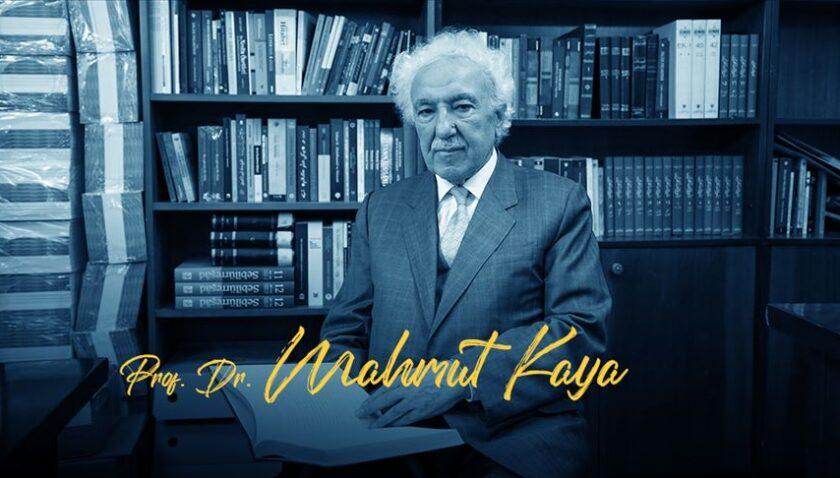 Prof. Dr. Kaya: Türk halkı belli dönem baskılar neticesinde dine susamış bir halk haline gelmiştir