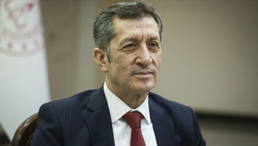Ziya Selçuk'tan uzaktan eğitim süreci açıklaması