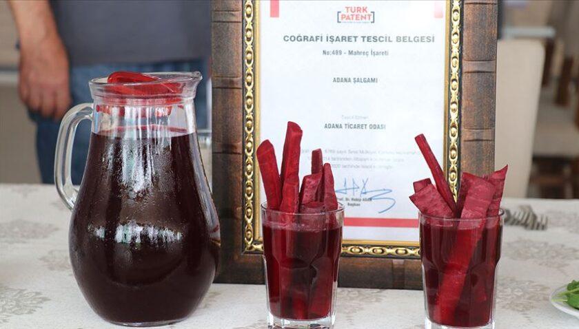 Adana şalgamı coğrafi işaret tescil belgesi aldı