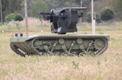 'İnsansız mini tank' için seri üretim imzası