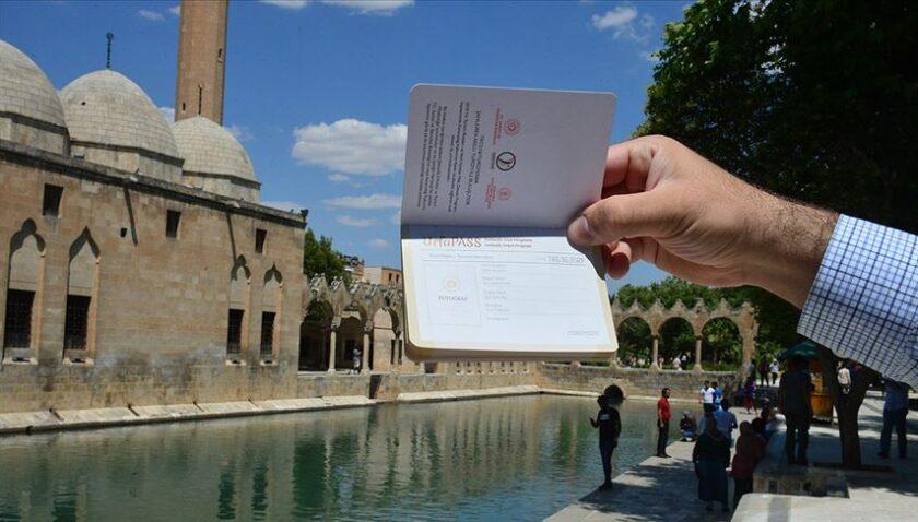 Şanlıurfa'yı ziyaret edenlere özel 'pasaport uygulaması'