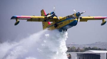Yangın uçakları nasıl su alır? Küçük muhabirimiz görüntüledi…